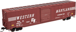 Atlas Master Line N 50001992 ACF 60' Auto Parts Box Car Western Maryland WM # 495979