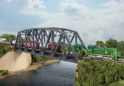 Walthers Cornerstone N 933-3870 Single -Track Arched Pratt Truss Bridge - Kit