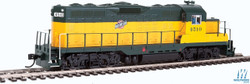 Walthers Mainline HO 910-10407 EMD GP9 Phase II with Chopped Nose Locomotive with Standard DC Chicago & North Western CNW #4510