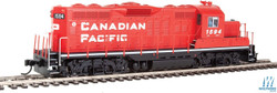 Walthers Mainline HO 910-20404 EMD GP9 Phase II with Chopped Nose Locomotive with ESU Sound & DCC Canadian Pacific CP #1594
