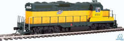 Walthers Mainline HO 910-20407 EMD GP9 Phase II with Chopped Nose Locomotive with ESU Sound & DCC Chicago & North Western CNW #4511