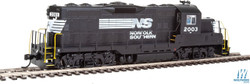 Walthers Mainline HO 910-20411 EMD GP9 Phase II with Chopped Nose Locomotive with ESU Sound & DCC Norfolk Southern NS #2003