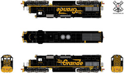 ScaleTrains Rivet Counter HO SXT31069 DCC & Sound Ready EMD SD40T-2 Rio Grande DRGW #5356