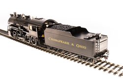 Broadway Limited Imports HO BLI 5528 Paragon3 2-8-0 Cheasapeake & Ohio C&O #166