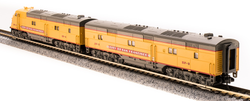 Broadway Limited Imports N 3592 EMD E6 AB Set UP/CNW SF-4/SF-5 City of San Francisco Scheme A unit equipped with Paragon3 Sound/DC/DCC Unpowered B unit