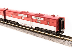 Broadway Limited Imports N 3607 EMD E7 AB Set Southern Pacific SP #6002A/#6002B Golden State Scheme A unit equipped with Paragon3 Sound/DC/DCC Unpowered B unit