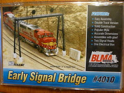 BLMA HO 4010 Early Signal Bridge - Double Track Version - Unassembled