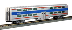 Kato HO 35-6038 Pullman Bi-Level 4 Window Coach Chicago METRA #7780