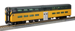 Kato HO 35-6026 Pullman Bi-Level 4 Window Cab-Coach Chicago & Northwestern CNW #184