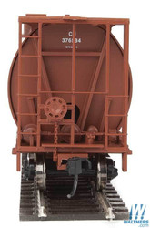 Walthers Mainline HO 910-7366 59' Cylindrical Hopper Canadian National CN #376606