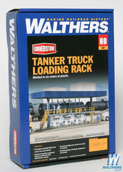 Walthers Cornerstone HO 933-3169 Tanker Truck Loading Rack - Kit
