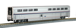 Kato HO 35-6073 Amtrak Superliner I Diner Phase VI #38021