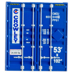Micro Trains Line 46900172 53' Corrugated Container Crowley CMCU #6030409