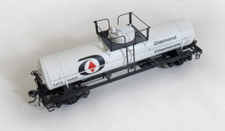 Tangent Scale Models HO 22060-02 General American 1952 Design 8,000 Gallon Welded Tank Car Diamond Chemicals GATX #69060