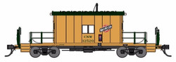Bluford Shops HO 34371 Transfer Caboose Chicago & North Western CNW #12529