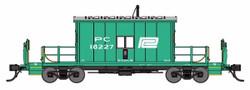 Bluford Shops HO 34400 Transfer Caboose Penn Central PC #18227