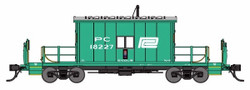 Bluford Shops HO 34401 Transfer Caboose Penn Central PC #18333