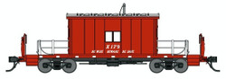 Bluford Shops HO 34420 Transfer Caboose Great Northern - Be Wise Beware Be Safe - GN #X179