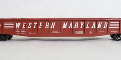 """Tangent Scale Models HO 10926-02 Bethlehem 52'6"""" 70 Ton Riveted Gondola Western Maryland Original 2-54 WM #54761"""