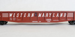 "Tangent Scale Models HO 10927-02 Bethlehem 52'6"" 70 Ton Riveted Gondola Western Maryland 1967 Repaint WM #5439"