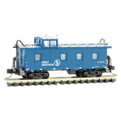 Micro Trains 100 00 430 36' Riveted Steel Caboose w/ Offset Cupola Great Northern GN #X222