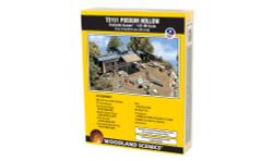 Woodland Scenics TS151 HO Trackside Scenes - Possum Hollow - Kit
