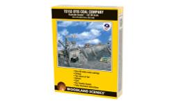 Woodland Scenics TS153 HO Trackside Scenes - Otis Coal Company - Kit