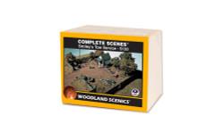 Woodland Scenics S130 HO Trackside Scenes - Smiley's Tow Service - Kit