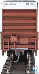 Walthers Mainline HO 910-2925 60' High Cube Plate F Box Car Canadian National - DWC #794104