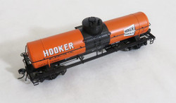Tangent Scale Models HO 22011-03 General American 1948 Design 8,000 Gallon Welded Tank Car GATX Hooker - Wilmington CA 1953+ GATX #76929