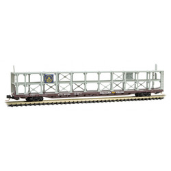 Micro Trains Line 112 00 090 89' Tri Level Open Auto Rack Baltimore & Ohio B&O #907185