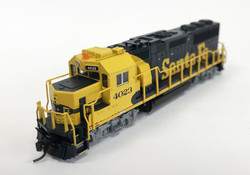 Fox Valley Models N 70751 EMD GP60 Late Dynamics DCC Ready Santa Fe ATSF #4023