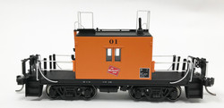 Fox Valley Models HO 31167 Milwaukee Road Transfer Caboose w/Plated Side Windows with Black Lettering & Logo #01
