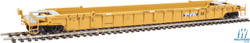 Walthers Mainline HO 910-55072 53' 3-Unit NSC Stand-Alone Well Car Set TTX - DTTX #620326