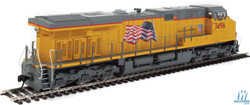 Walthers Mainline HO 910-20185 GE ES44AH Evolution Series GEVO Locomotive with DCC/ESU Sound Union Pacific UP #7500