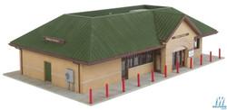 Walthers Cornerstone HO 933-4095 Modern Suburban Station - Kit