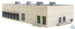 Walthers Cornerstone N 933-3862 Modern Concrete Warehouse - Kit