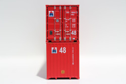 Jacksonville Terminal Company N 485006 48' High Cube 3-42-3 PCR Style Corrugated Container SEA STAR Line  2-Pack