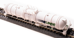 Broadway Limited Imports N 3724 Cryogenic Tank Car Linde 2-pack