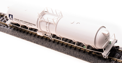 Broadway Limited Imports N 3725 Cryogenic Tank Car Liquid Air Corporation 2-pack