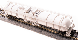 Broadway Limited Imports N 3734 Cryogenic Tank Car Unlettered Gray Type A