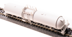 Broadway Limited Imports N 3735 Cryogenic Tank Car Unlettered Gray Type B