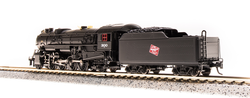 Broadway Limited Imports N 5709 USRA Heavy Mikado Milwaukee Road MILW #320 equipped with Paragon3 Sound/DC/DCC