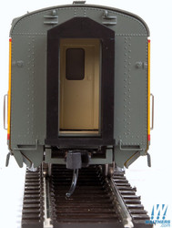 Walthers Proto HO 920-9548 85ft Pullman Standard Placid Series 11 Double Bedroom Sleeper Car Union Pacific City of Los Angeles UP Placid Waters