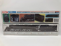 Monogram Plastic Models 1601 HO Scale 4-8-8-4 Big Boy Locomotive with Baltimore & Ohio Markings B&O