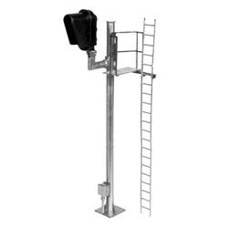 Atlas HO 70000095 Railroad Signal System - Signal - Hooded Modern Single Head Right