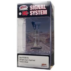 Atlas HO 70000076 Railroad Signal System - Signal - Type G Single Head