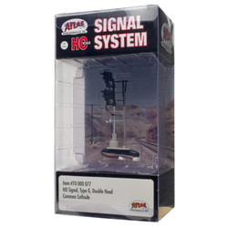 Atlas HO 70000077 Railroad Signal System - Signal - Type G Double Head