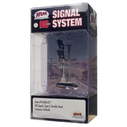 Atlas HO 70000077 Railroad Signal System - Signal - Type G Double Head