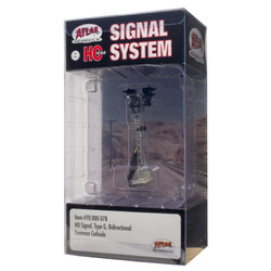 Atlas HO 70000078 Railroad Signal System - Signal - Type G Bi Directional